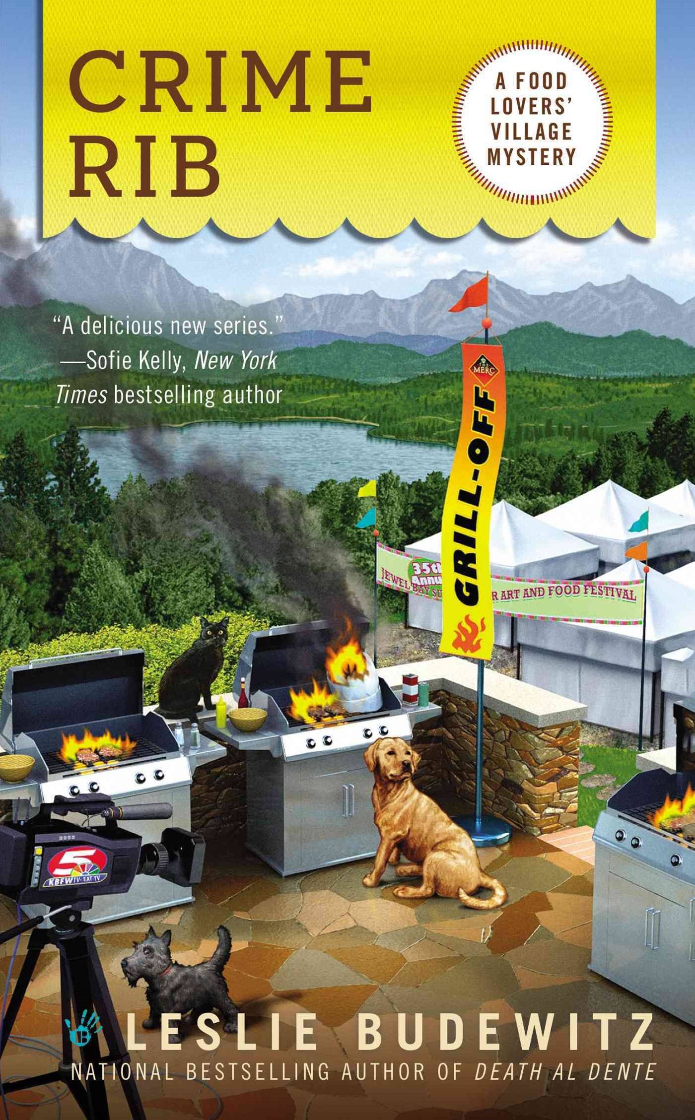 Crime Rib: A Food Lover's Village Mystery Book 2