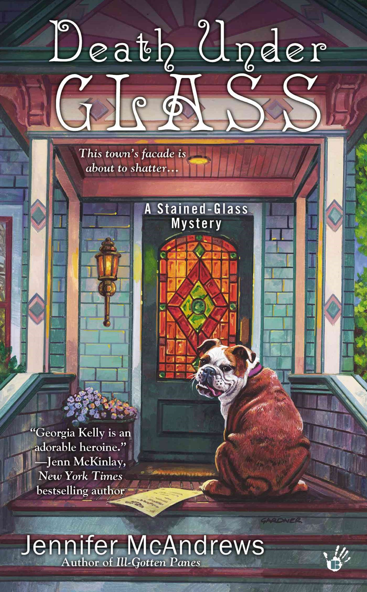 Death Under Glass: A Stained-Glass Mystery Book 2