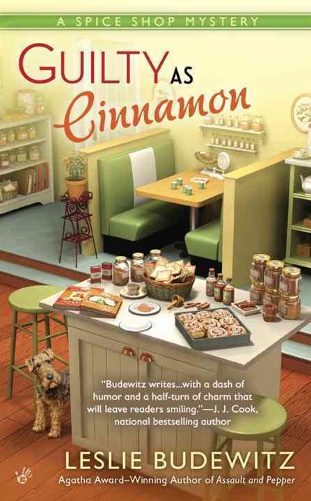 Guilty As Cinnamon: A Spice Shop Mystery Book 2