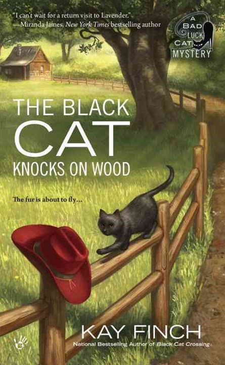 The Black Cat Knocks On Wood: A Bad Luck Cat Mystery