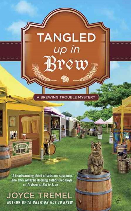 Tangled Up in Brew: A Brewing Trouble Mystery
