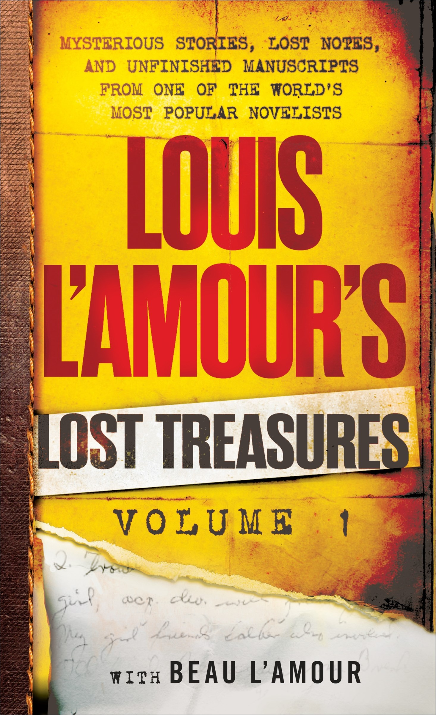 Louis L'amour's Lost Treasures Volume 1