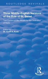 (ebook) Three Middle-English Versions of the Rule of St. Benet - Religion & Spirituality