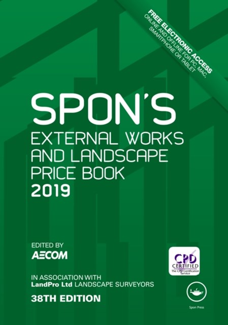 (ebook) Spon's External Works and Landscape Price Book 2019