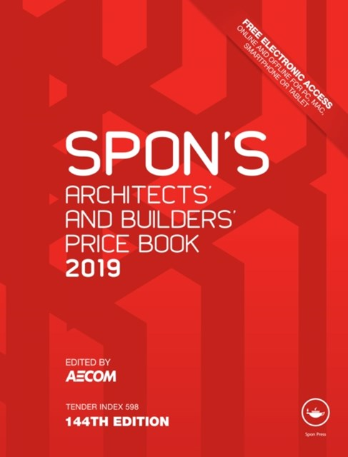 (ebook) Spon's Architects' and Builders' Price Book 2019
