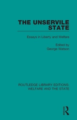 (ebook) The Unservile State