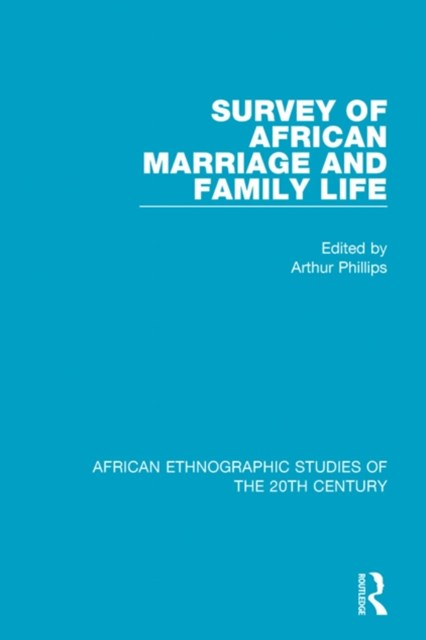 (ebook) Survey of African Marriage and Family Life