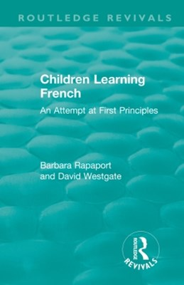 Children Learning French