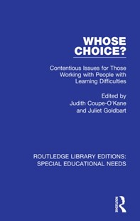 (ebook) Whose Choice? - Education Trade Guides