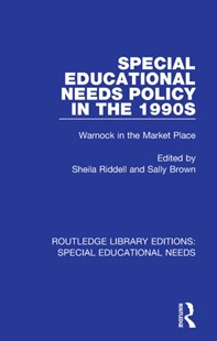 (ebook) Special Educational Needs Policy in the 1990s - Education Teaching Guides