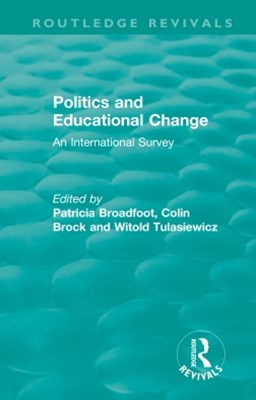 Politics and Educational Change
