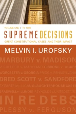 (ebook) Supreme Decisions, Volume 1