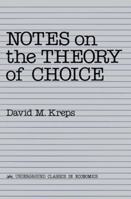 (ebook) Notes On The Theory Of Choice