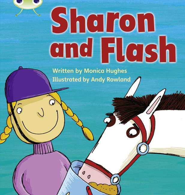 Phonics Bug Phase 3: Sharon and Flash (Reading Level 4/F&P Level D)