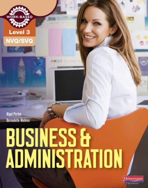 NVQ/SVQ Level 3 Business and Administration Candidate Handbook