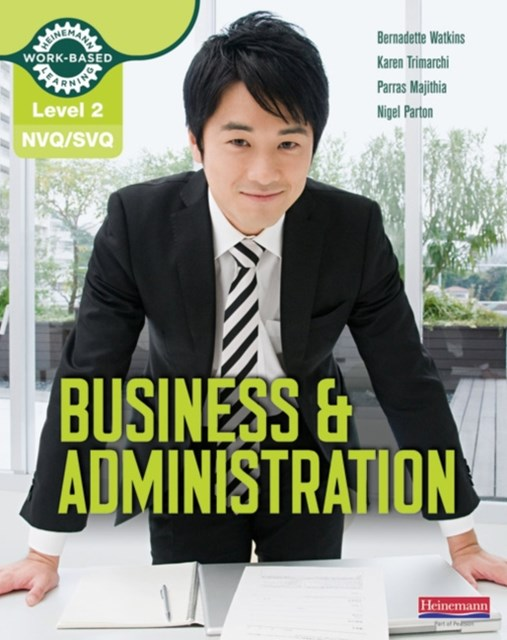 NVQ/SVQ: Business & Administration Candidate Handbook