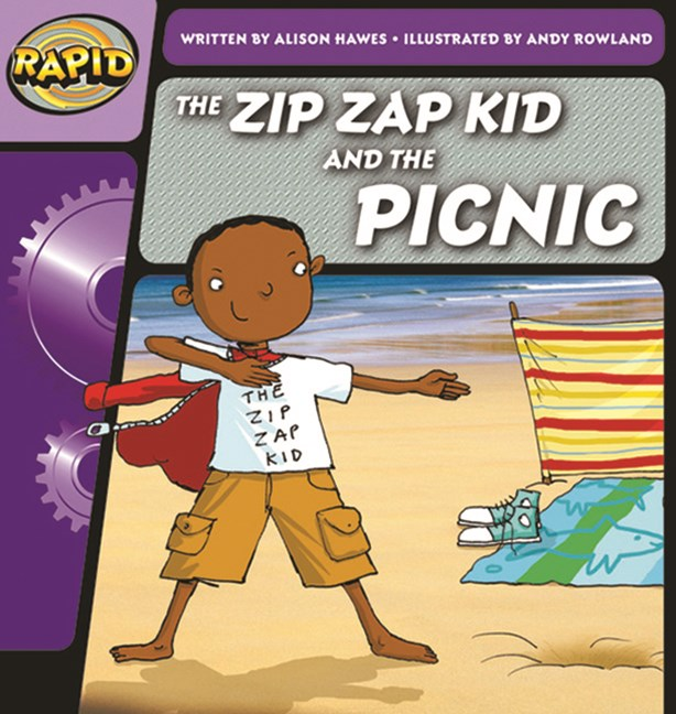 Rapid Phonics Step 1: The Zip Zap Kid and the Picnic - Fiction