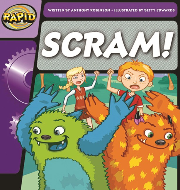 Rapid Phonics Step 1: Scram!