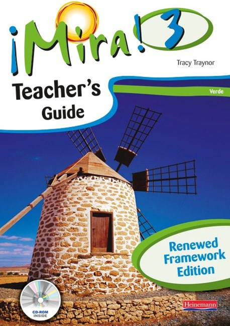 Mira! 3 Verde Teacher's Guide with CD-ROM (Renewed Framework Edition)