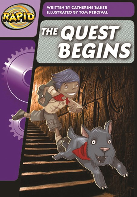 Rapid Phonics Step 3: The Quest Begins