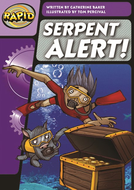 Rapid Phonics Step 3: Serpent Alert! - Fiction