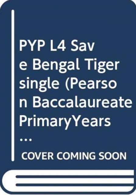 PYP L4 Save Bengal Tiger Single