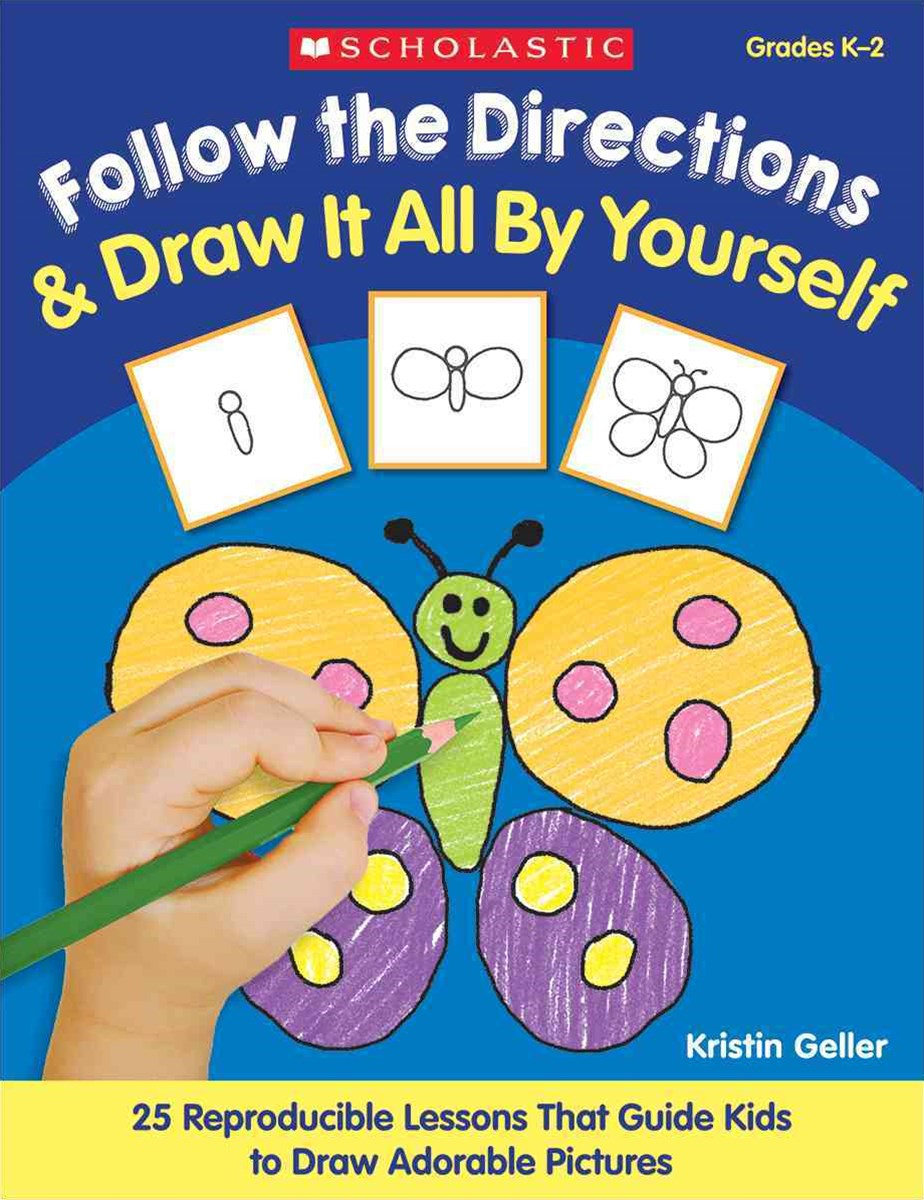 follow the directions and draw it all by yourself pdf