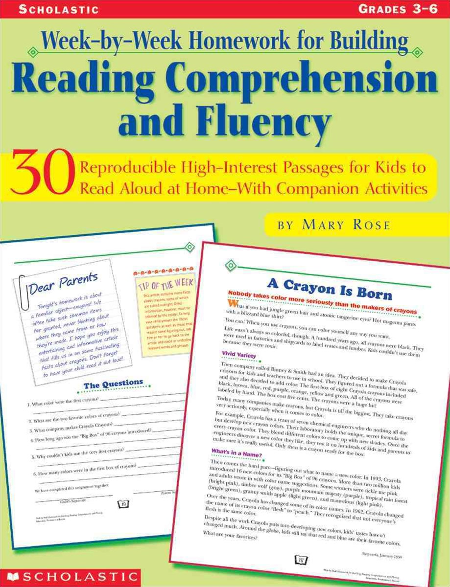 30 Reproducible, High-Interest Passages for Kids to Read Aloud at Home