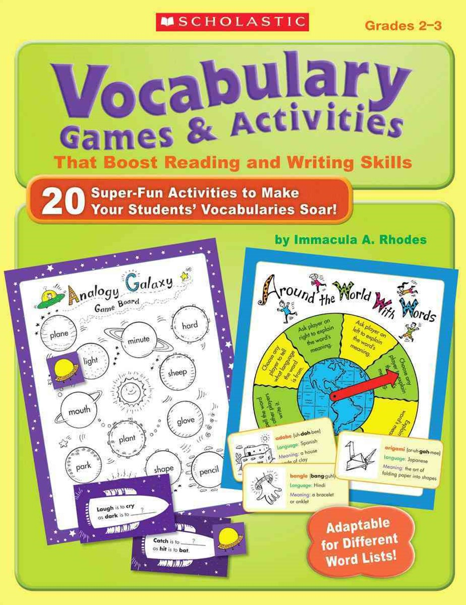 Vocabulary Games and Activities That Boost Reading and Writing Skills