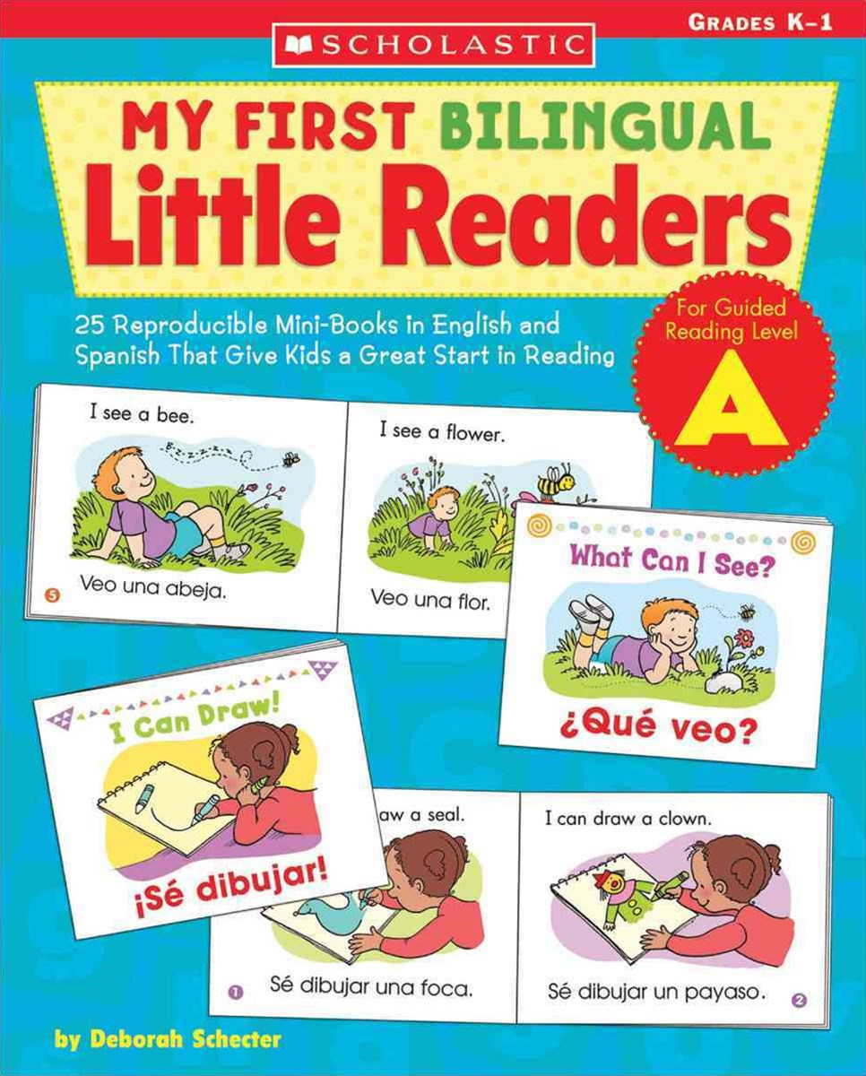 25 Reproducible Mini-Books in English and Spanish That Give Kids a Great Start in Reading
