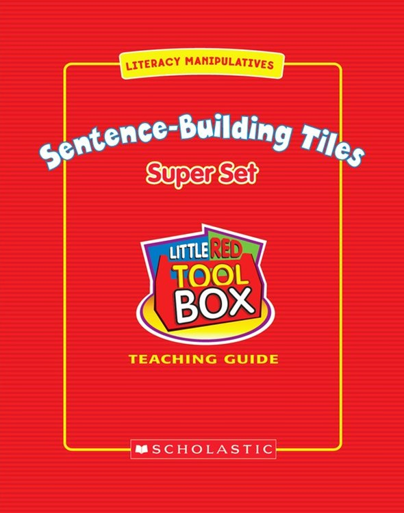 Sentence-Building Tiles Super Set