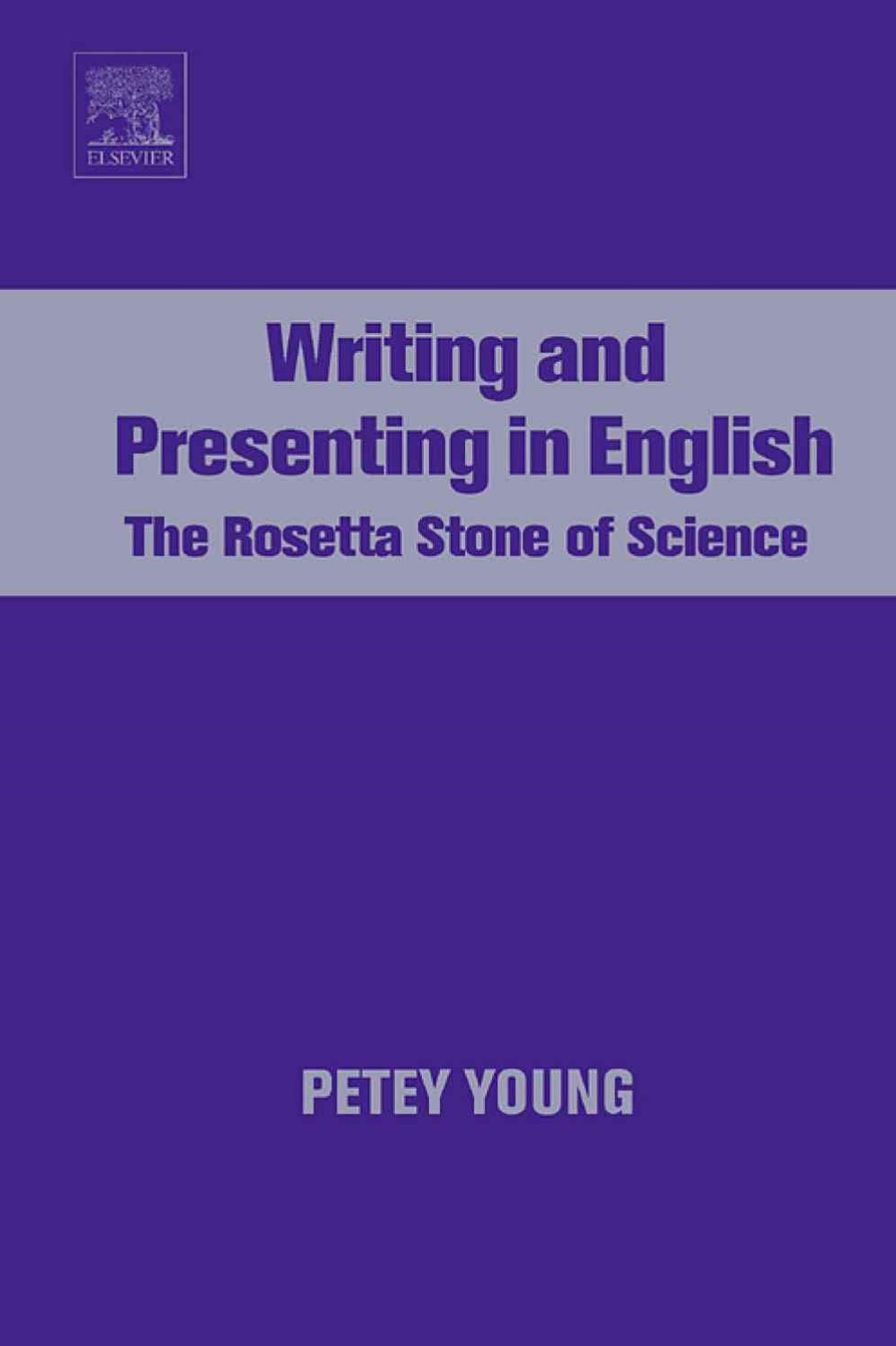 Writing and Presenting in English