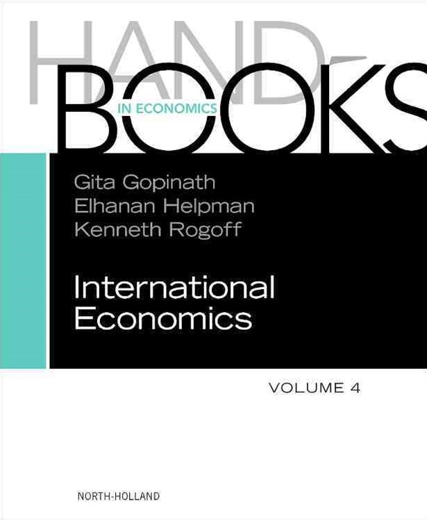 Handbook of International Economics
