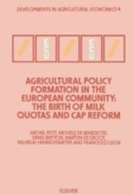 (ebook) Agricultural Policy Formation in the European Community