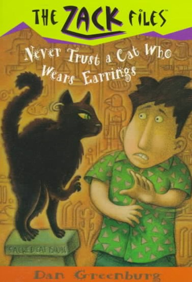 Never Trust a Cat Who Wears Earrings