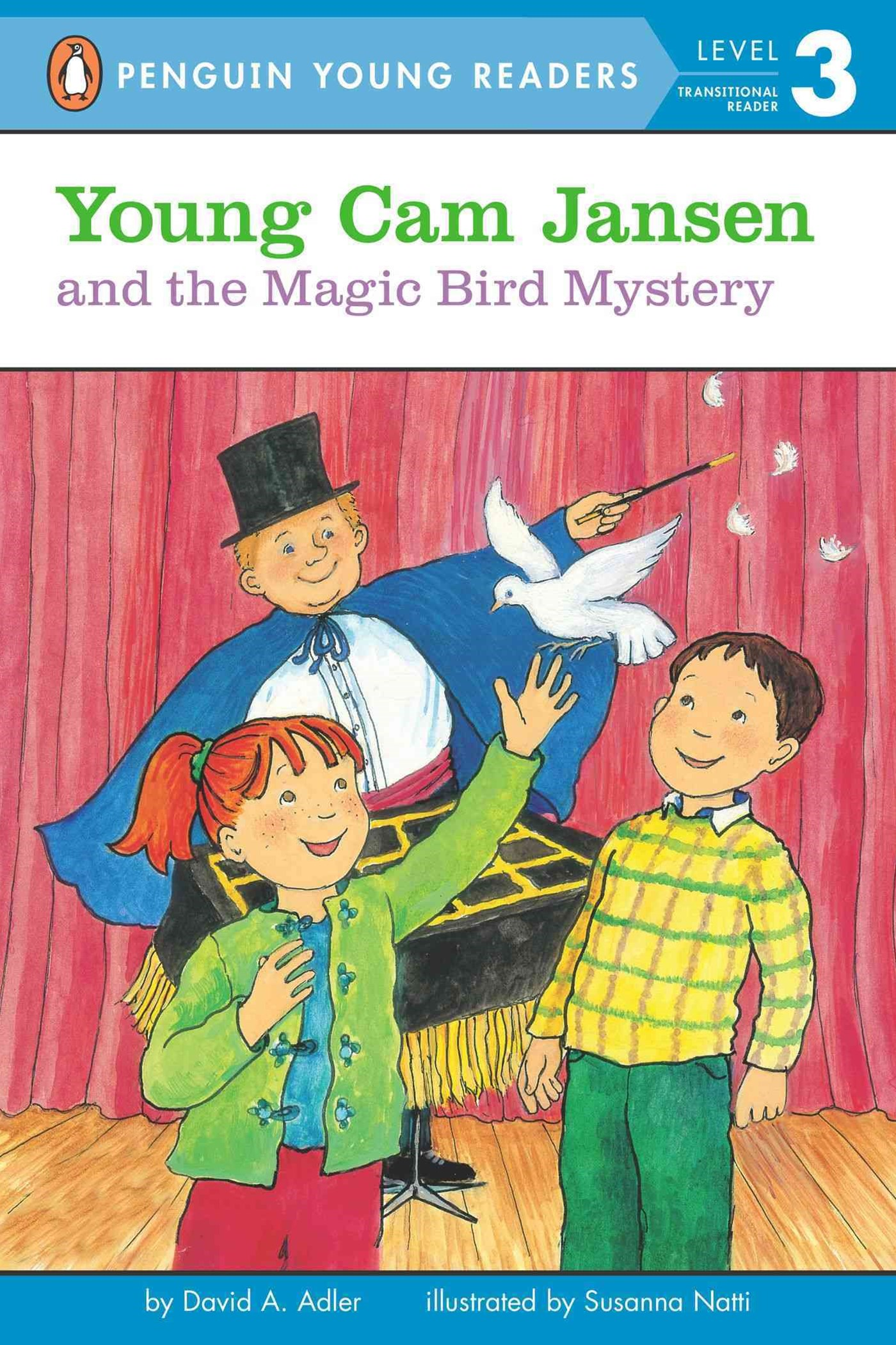Young Cam Jansen and the Magic Bird Mystery