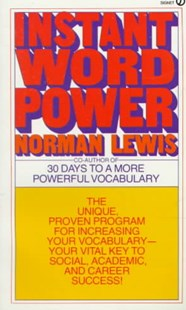 Instant Word Power by Norman Lewis (9780451166470) - PaperBack - Reference