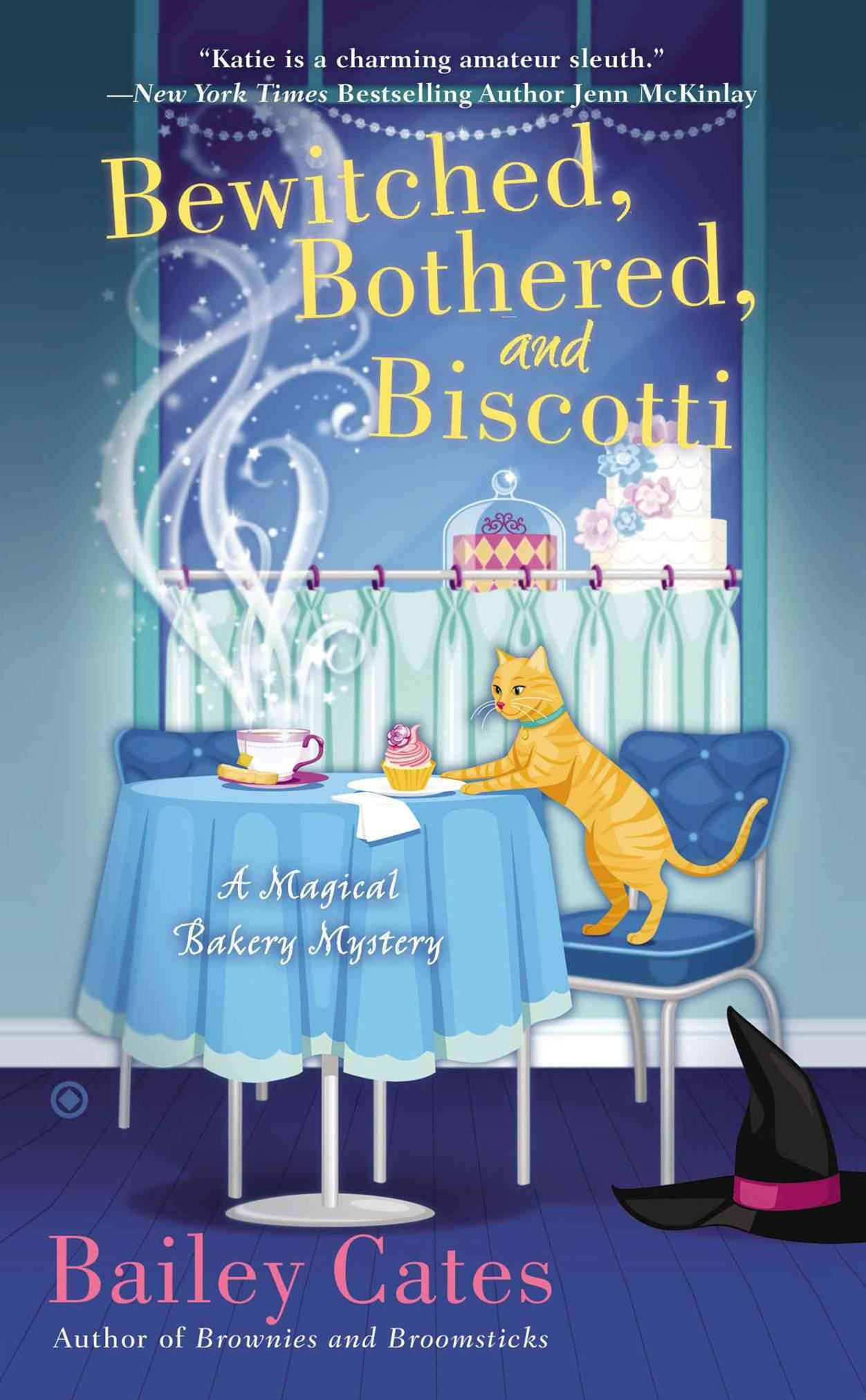 Bewitched, Bothered, And Biscotti: A Magical Bakery MysteryBook 2
