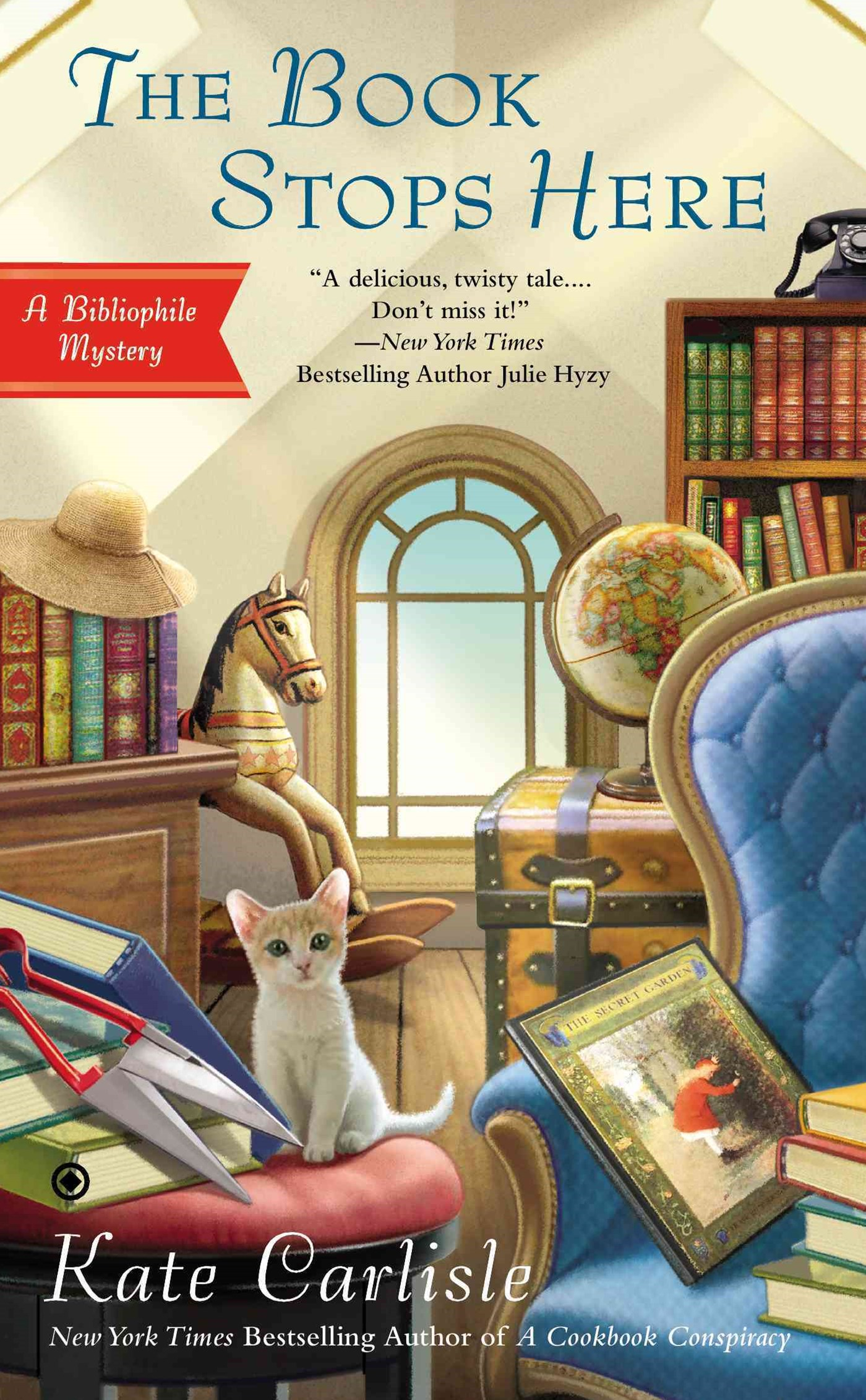 The Book Stops Here: A Bibliophile Mystery Book 8