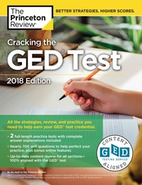 (ebook) Cracking the GED Test with 2 Practice Exams, 2018 Edition