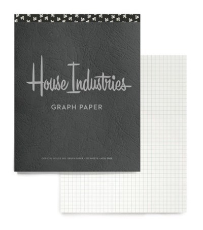 House Industries Graph Pad