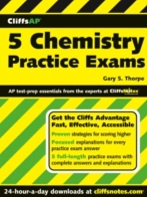 CliffsAP 5 Chemistry Practice Exams