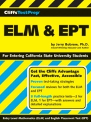 CliffsTestPrep ELM & EPT