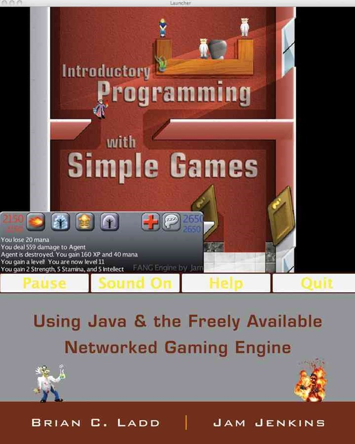 Introduction to Java Programming with Games