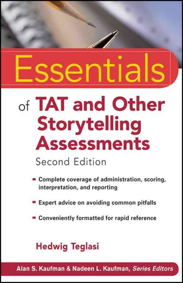 Essentials of Tat and Other Storytelling Assessments, Second Edition