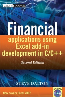 Financial Applications using Excel Add-in Development in C / C++