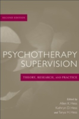 (ebook) Psychotherapy Supervision