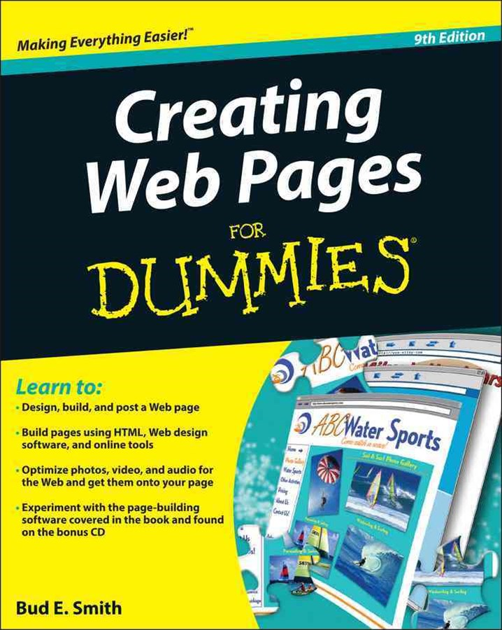 Creating Web Pages for Dummies®, 9th Edition