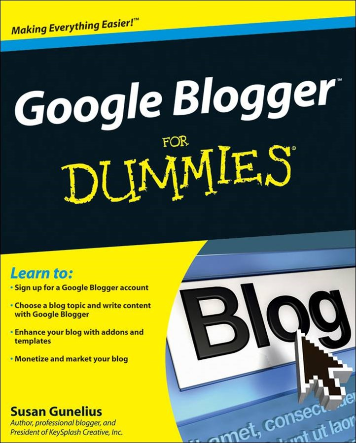 Google® Blogger for Dummies®