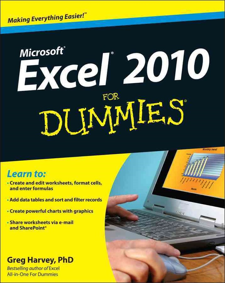 Excel 2010 for Dummies®